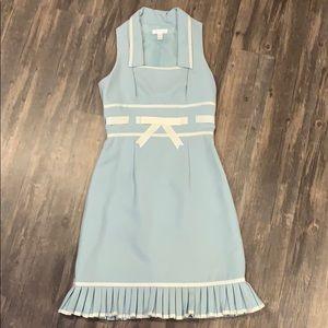 London Times blue dress